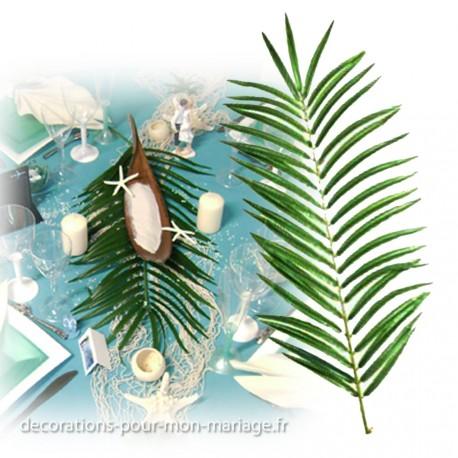 Fleurs en artificiel de qualit d corations pour un mariage for Feuille de palmier deco