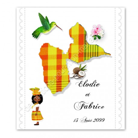 faire-part-guadeloupe-madras-jaune