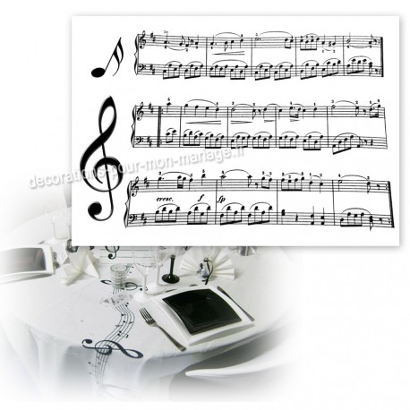 set-de-table-partition-musique