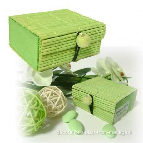 boite-dragees-bambou-vert