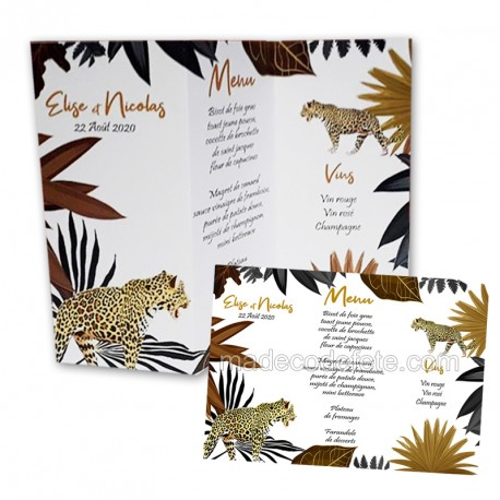 menu-de-table-jungle-leopard