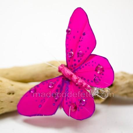 papillons-deco-fuchsia-lot-de-4